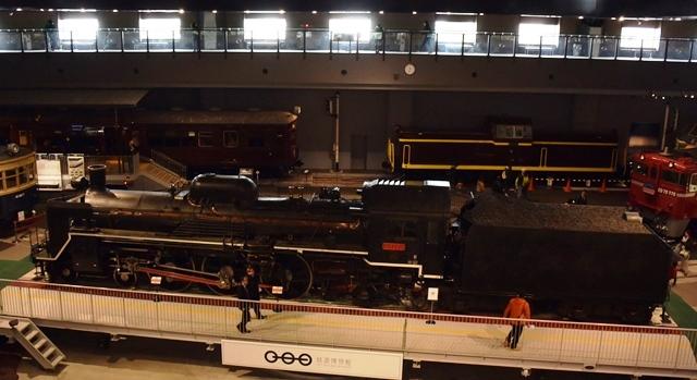 鉄道博物館 C57形式蒸気機関車